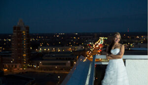 Evening wedding at the Penthouse